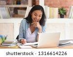 smiling asian undergraduate... | Shutterstock . vector #1316614226