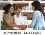 asian and african women holding ... | Shutterstock . vector #1316614289