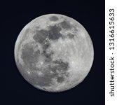 Large Full Super Moon  100 ...