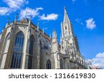 bern cathedral. gothic... | Shutterstock . vector #1316619830