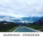 beautiful asphalt road....   Shutterstock . vector #1316626166