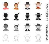 vector design of imitator and... | Shutterstock .eps vector #1316636429