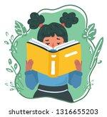 vector cartoon illustration of... | Shutterstock .eps vector #1316655203