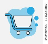 editable cute blue vector icon  ...