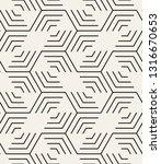 vector seamless pattern. modern ... | Shutterstock .eps vector #1316670653