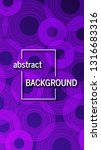 trendy geometric background... | Shutterstock .eps vector #1316683316