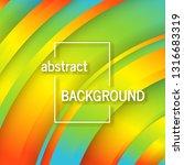 trendy geometric background... | Shutterstock .eps vector #1316683319