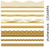 various intricate borders for... | Shutterstock .eps vector #13166896