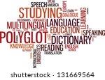 vector polyglot typographical...   Shutterstock .eps vector #131669564