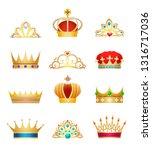 Crown Jewels. Vintage Woman...