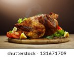 Whole Roasted Chicken With...