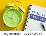 time to update concept with...   Shutterstock . vector #1316719799