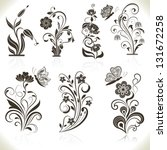 Floral Flower Vector Design...