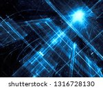 abstract blue tech background   ... | Shutterstock . vector #1316728130