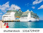 cozumel  mexico  march 1  2016  ... | Shutterstock . vector #1316729459