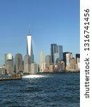 panoramic view of new york city ... | Shutterstock . vector #1316741456