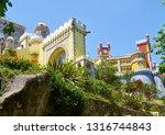 sintra  portugal   july 03 ...   Shutterstock . vector #1316744843