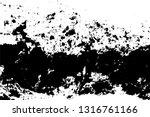 black and white grunge urban...   Shutterstock .eps vector #1316761166