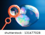 Blowing Bubbles  Close Up Photo
