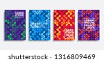 modern abstract design covers... | Shutterstock .eps vector #1316809469