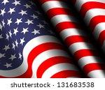 Waving Flag Usa