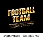 vector glossy label football... | Shutterstock .eps vector #1316837759