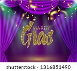 beautiful background with mardy ... | Shutterstock .eps vector #1316851490