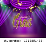 beautiful background with mardy ... | Shutterstock .eps vector #1316851493