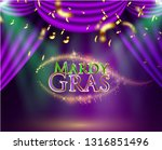 beautiful background with mardy ... | Shutterstock .eps vector #1316851496