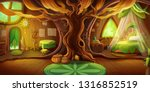 Fairy Tale Cottage Interior....