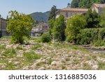 scenery around vals les bains ... | Shutterstock . vector #1316885036