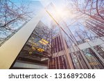 low angle view of skyscrapers ... | Shutterstock . vector #1316892086