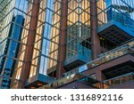low angle view of skyscrapers ... | Shutterstock . vector #1316892116