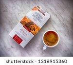 gomel  belarus   february 10 ... | Shutterstock . vector #1316915360