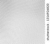 abstract halftone texture.... | Shutterstock .eps vector #1316926820