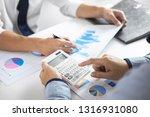 business team group... | Shutterstock . vector #1316931080