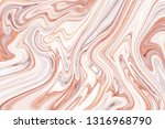 marble ink colorful. brown... | Shutterstock . vector #1316968790