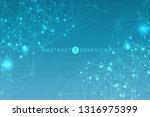 geometric abstract background... | Shutterstock .eps vector #1316975399
