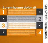 modern infographic design layout | Shutterstock .eps vector #131698184