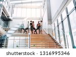 group of young businesspeople... | Shutterstock . vector #1316995346