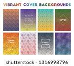vibrant cover backgrounds....   Shutterstock .eps vector #1316998796