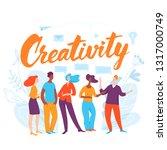 vector concept business... | Shutterstock .eps vector #1317000749