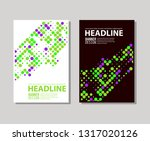 minimal color covers designset. ... | Shutterstock .eps vector #1317020126