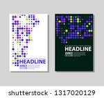 minimal color covers designset. ... | Shutterstock .eps vector #1317020129