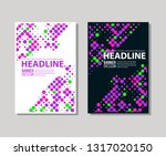 minimal color covers designset. ... | Shutterstock .eps vector #1317020150