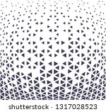 abstract geometric hipster... | Shutterstock .eps vector #1317028523