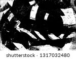 grunge is black and white. the... | Shutterstock . vector #1317032480