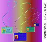 business multicolored kit badge ... | Shutterstock .eps vector #1317049160