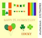 happy st.patrick s day | Shutterstock .eps vector #1317063983