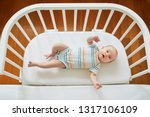 adorable baby girl in co... | Shutterstock . vector #1317106109